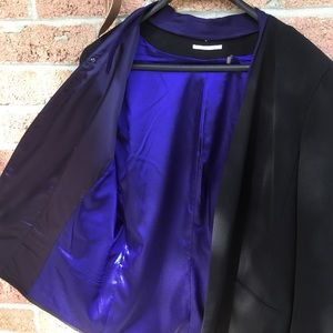 Elie Tahari black suit jacket size 16